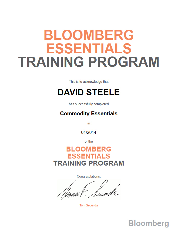 The Steele Group Certifications